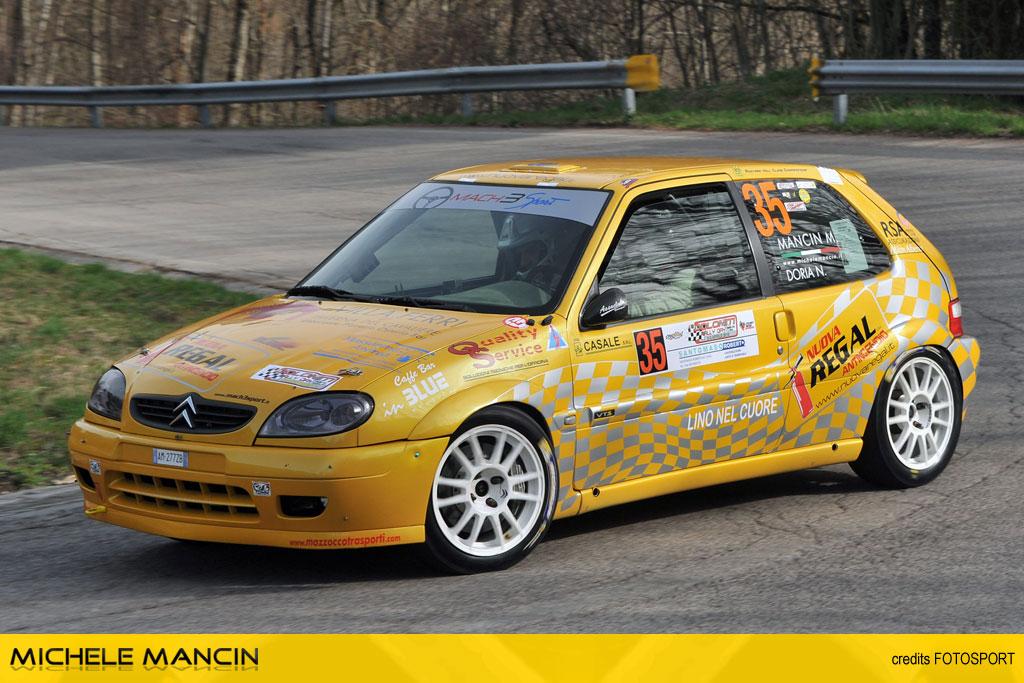 Mancin è pronto per il Rally dei Laghi