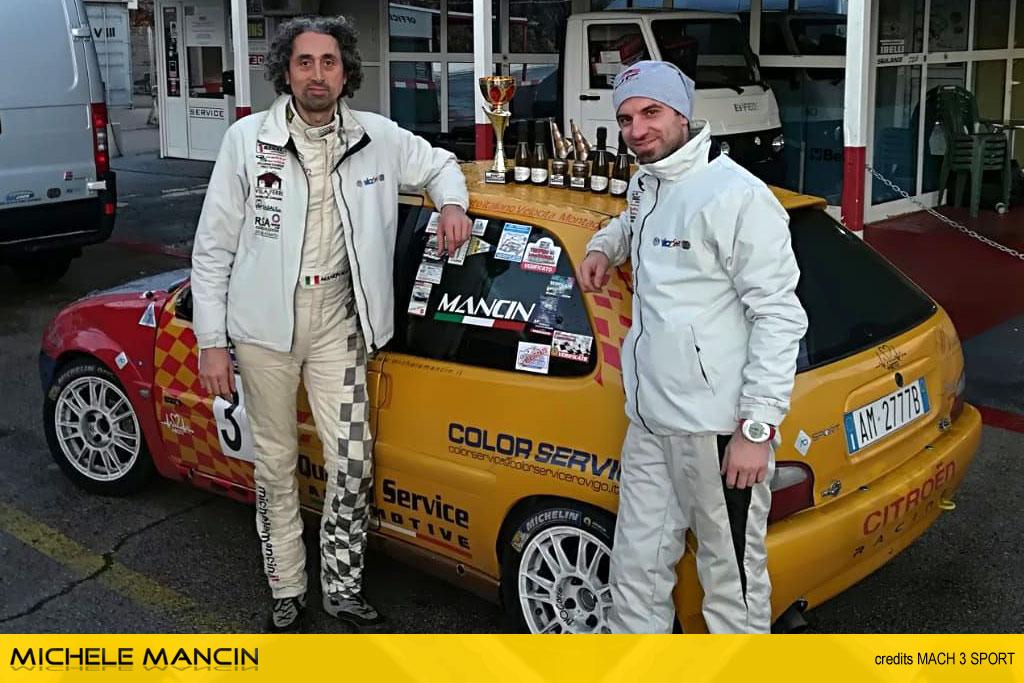 Mancin in evidenza al Rijeka Rally Ronde