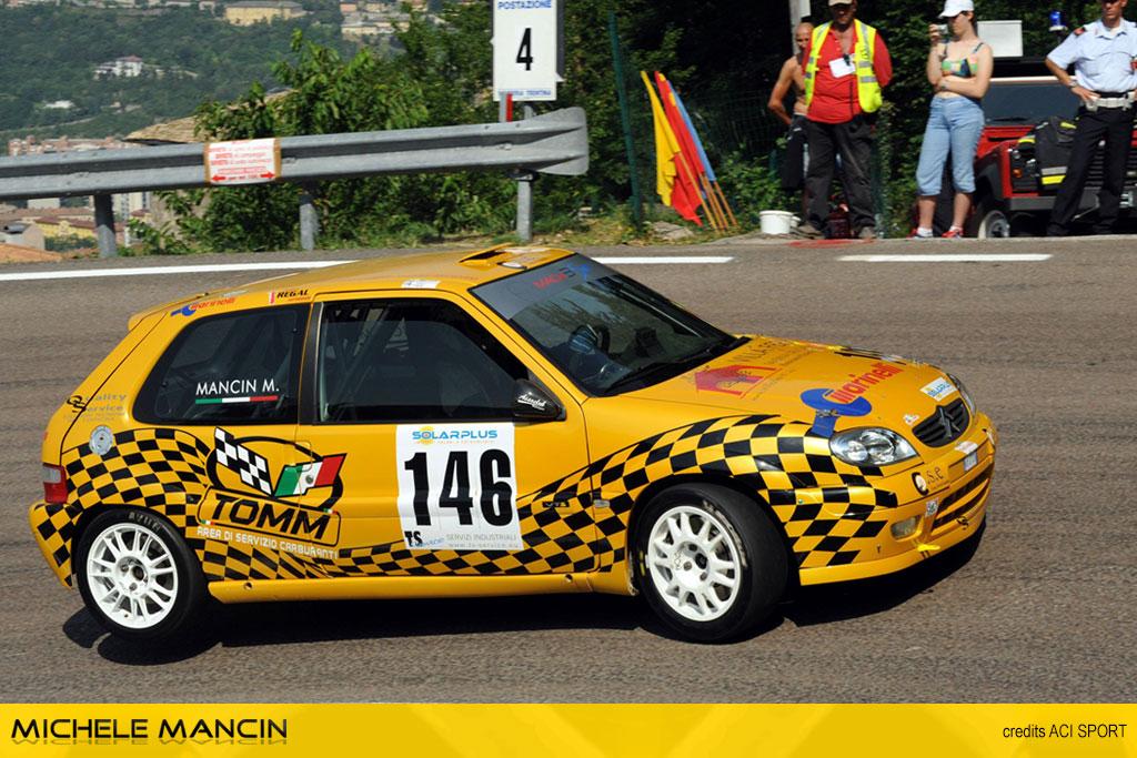 Mancin, alla Trento - Bondone, torna sul podio