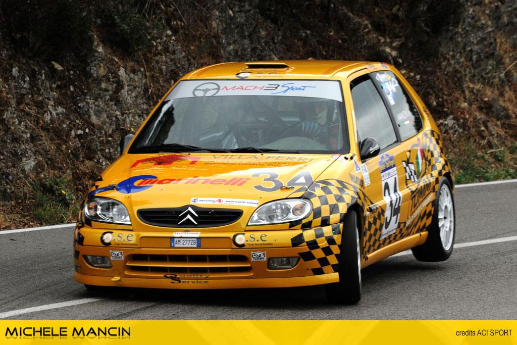 Mancin festeggia il tricolore CIVM all'Historic Cars Day