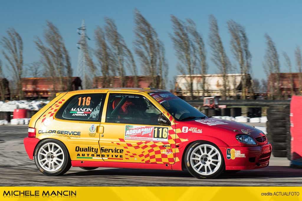Mancin beffato sul finale ad Adria Rally Show